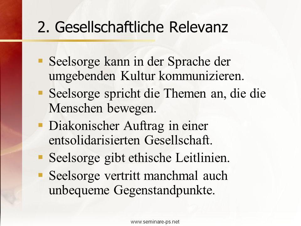 2. Gesellschaftliche Relevanz