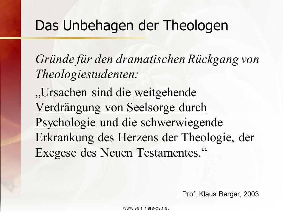 Das Unbehagen der Theologen