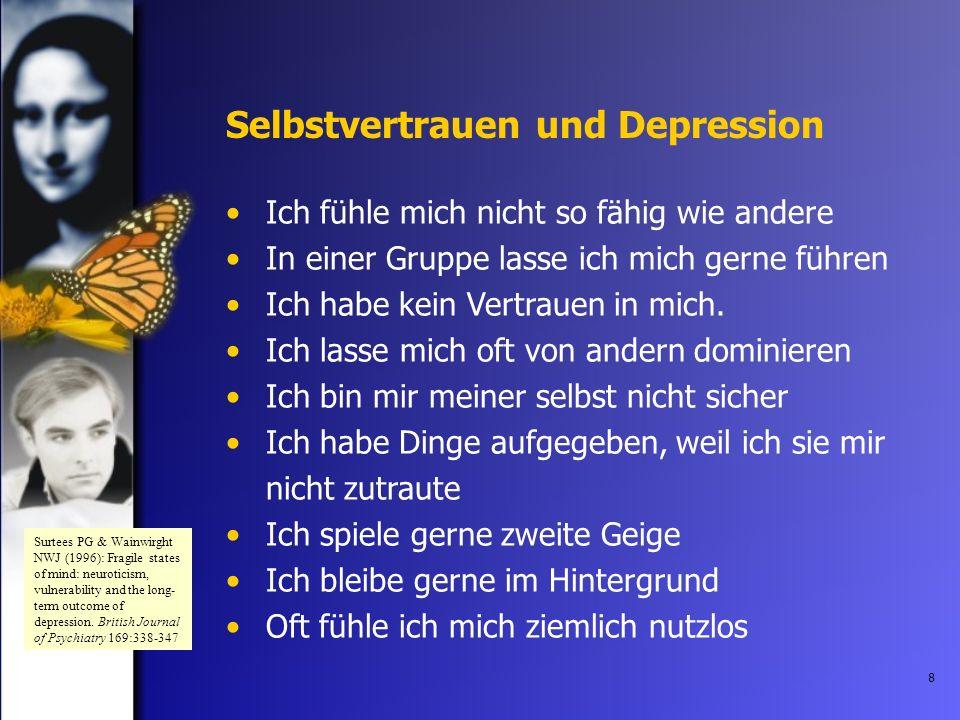 Selbstvertrauen und Depression