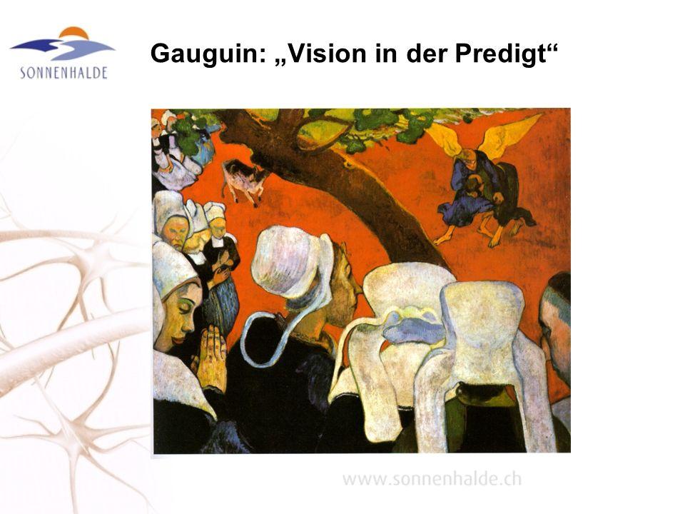 """Gauguin: """"Vision in der Predigt"""