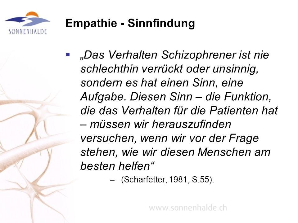 Empathie - Sinnfindung