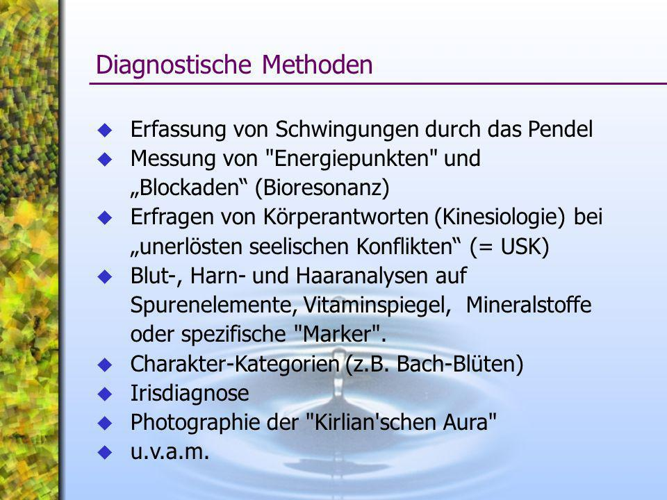 Diagnostische Methoden