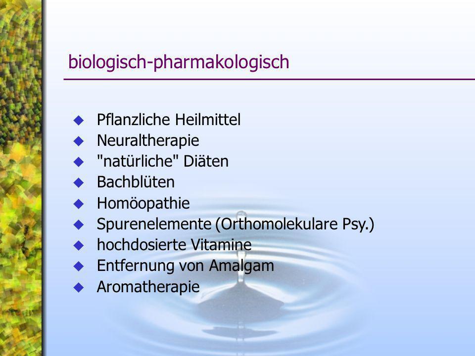 biologisch-pharmakologisch