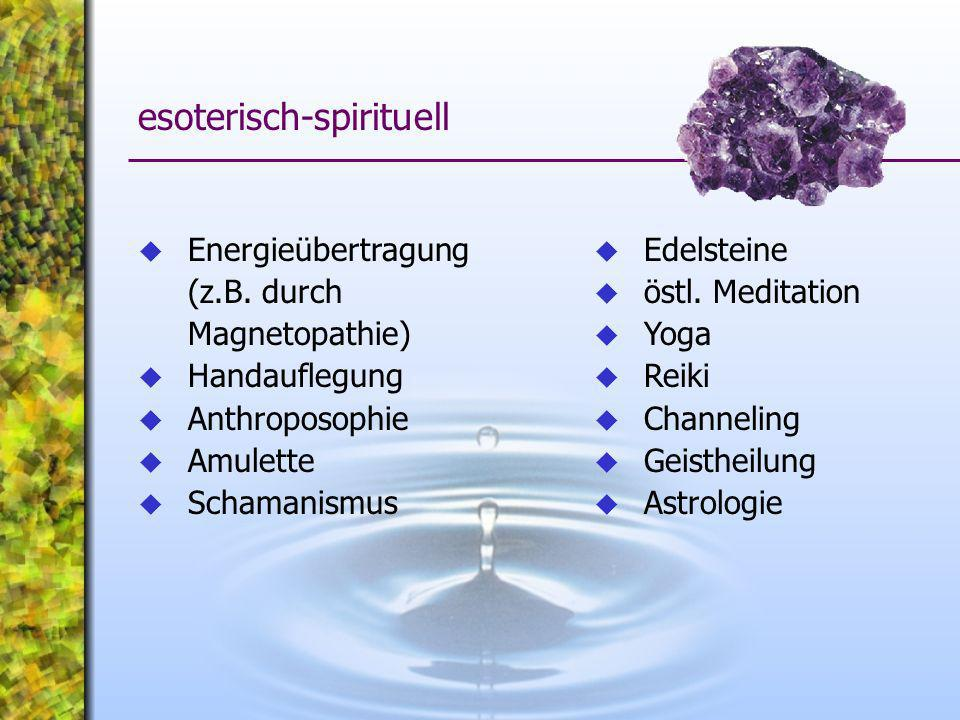 esoterisch-spirituell