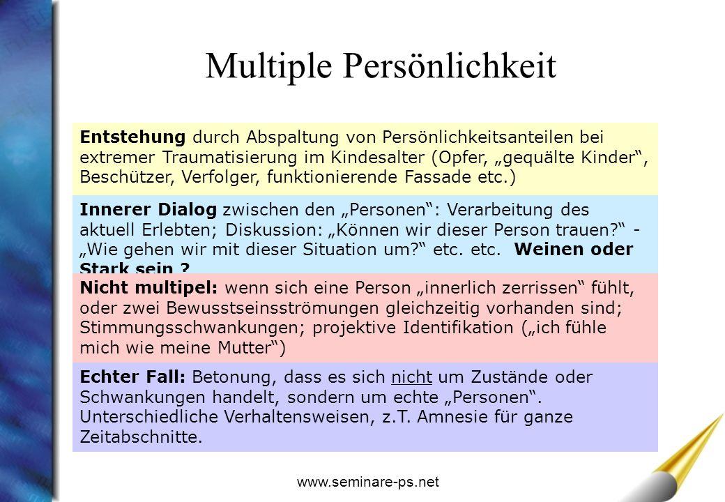 Multiple Persönlichkeit