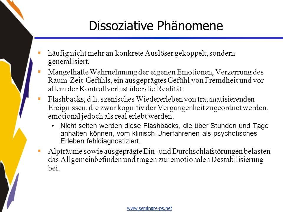 Dissoziative Phänomene
