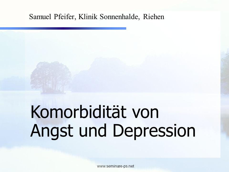 Samuel Pfeifer, Klinik Sonnenhalde, Riehen