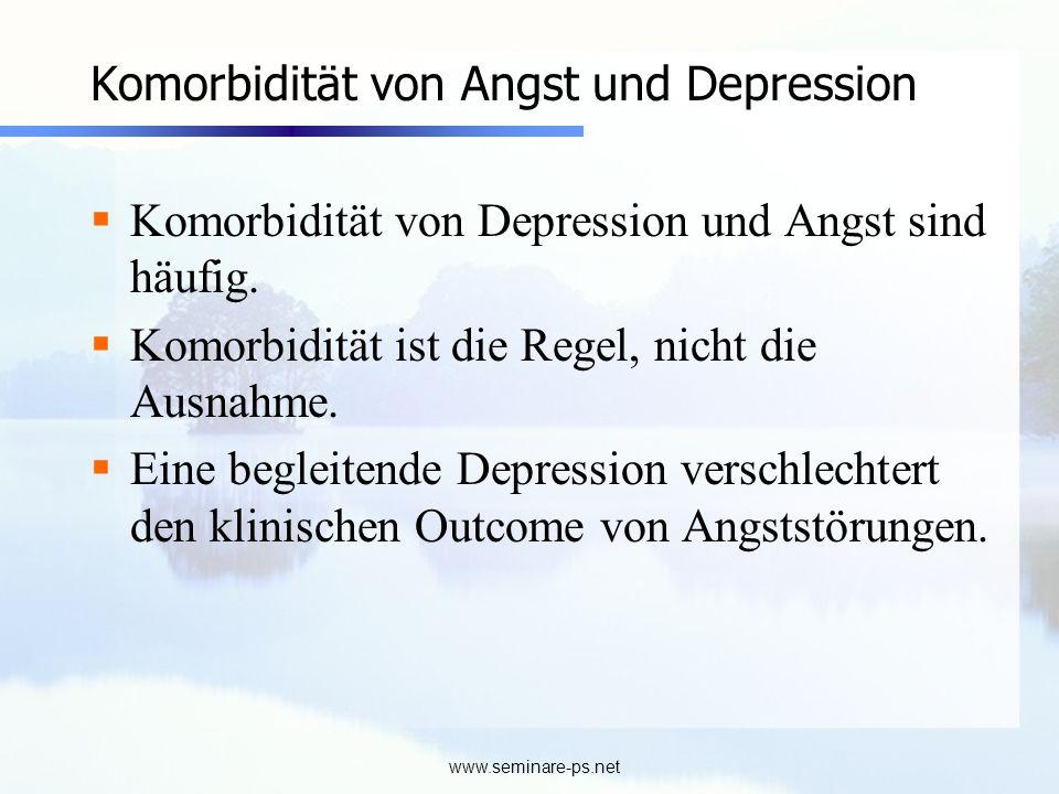 Komorbidität von Angst und Depression