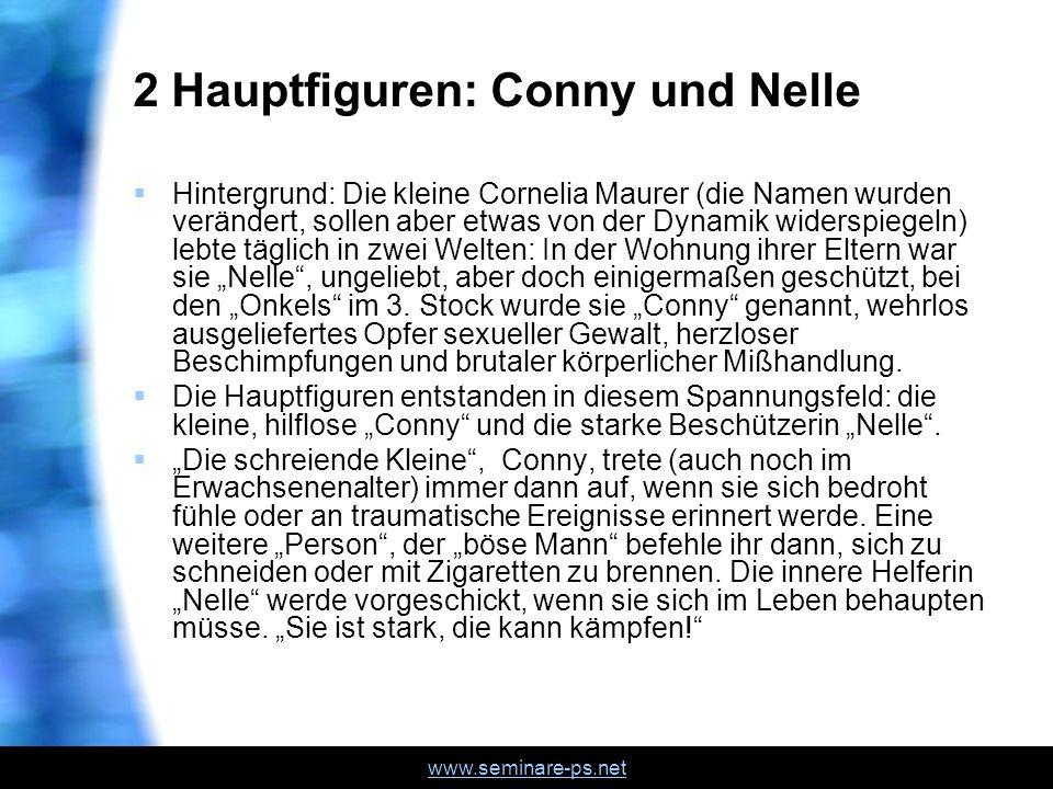 2 Hauptfiguren: Conny und Nelle