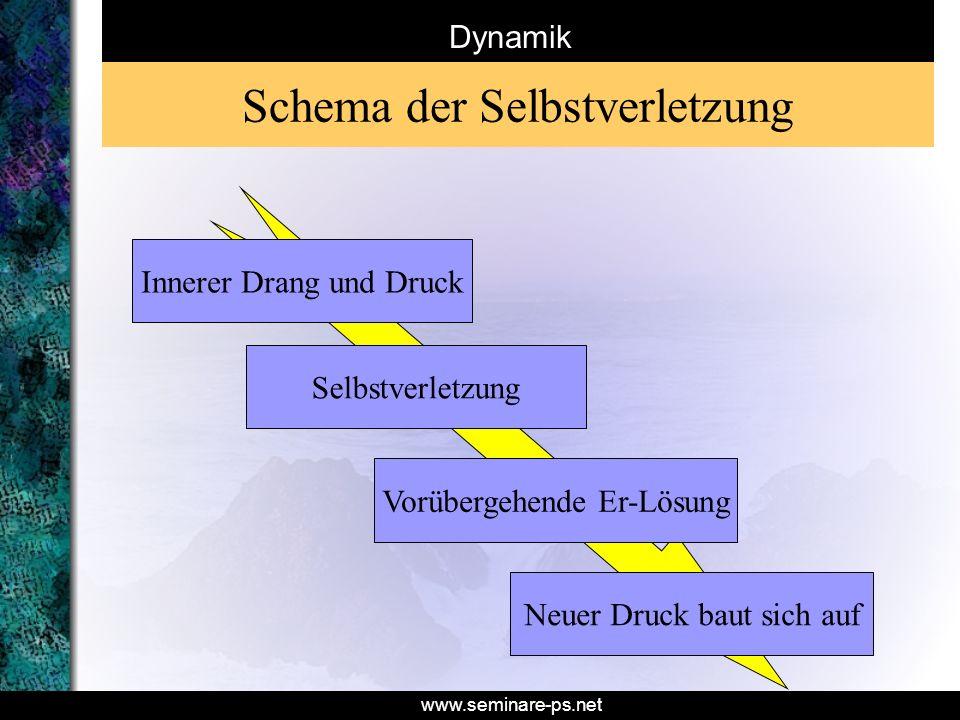 Schema der Selbstverletzung