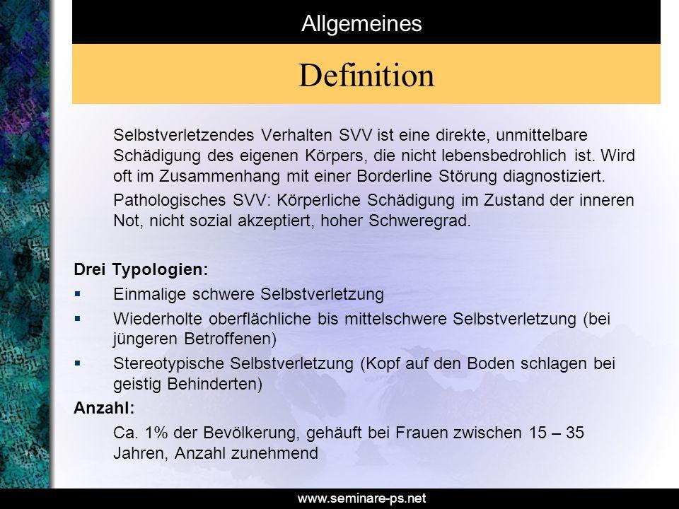 Definition Allgemeines