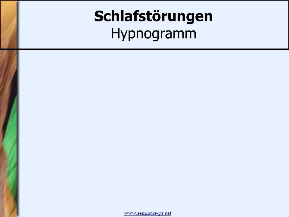 Schlafstörungen Hypnogramm