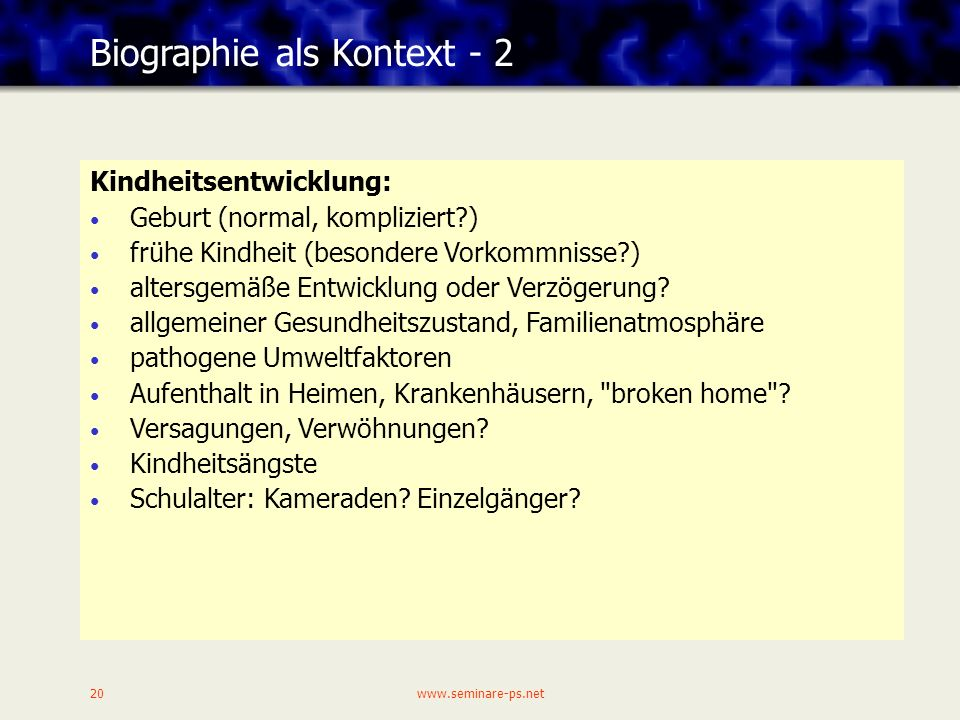 Biographie als Kontext - 2