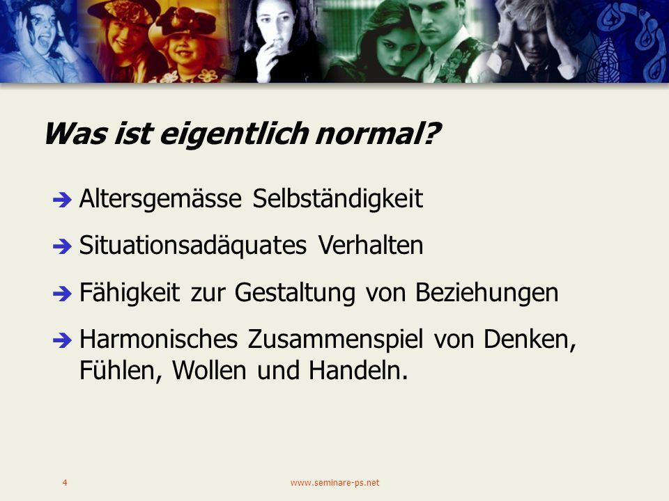 Was ist eigentlich normal