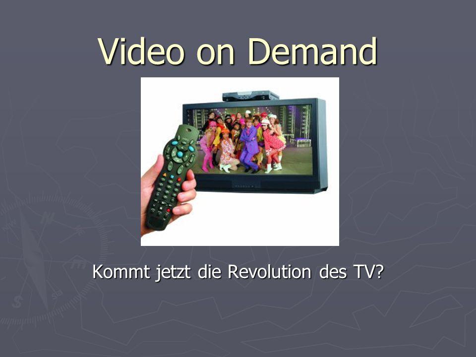 Kommt jetzt die Revolution des TV