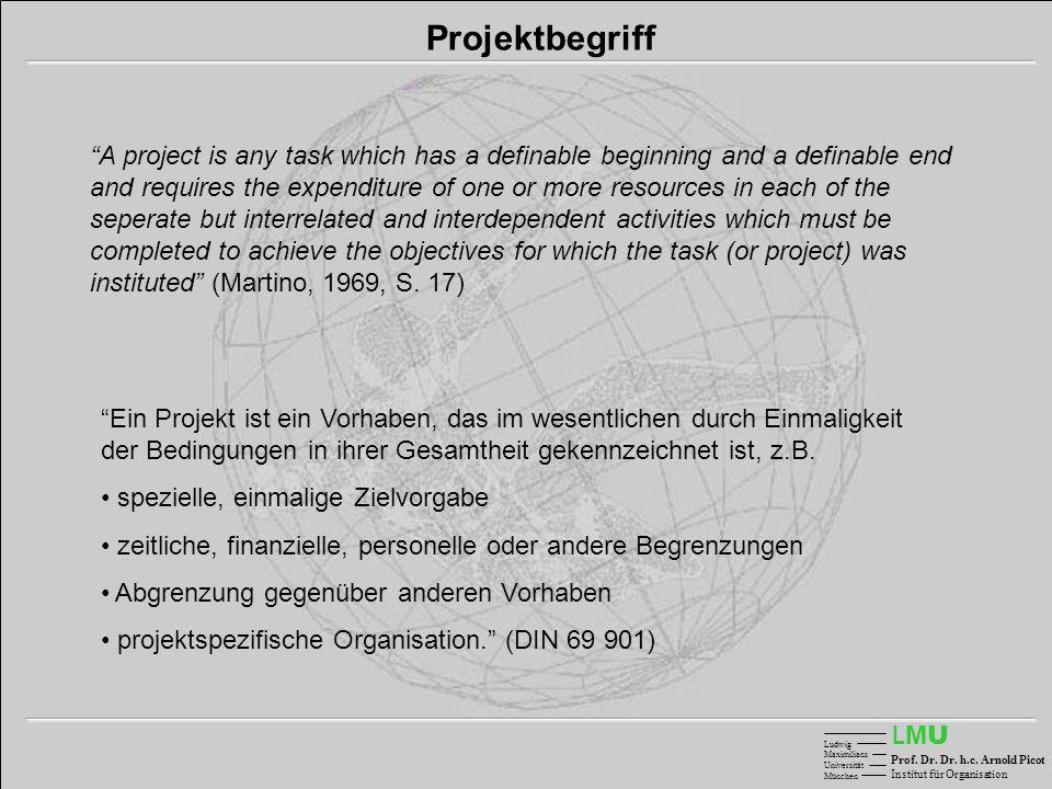 Projektbegriff