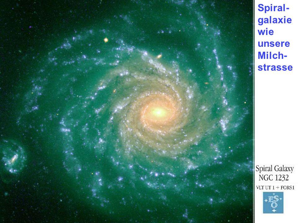 Spiral- galaxie wie unsere Milch- strasse