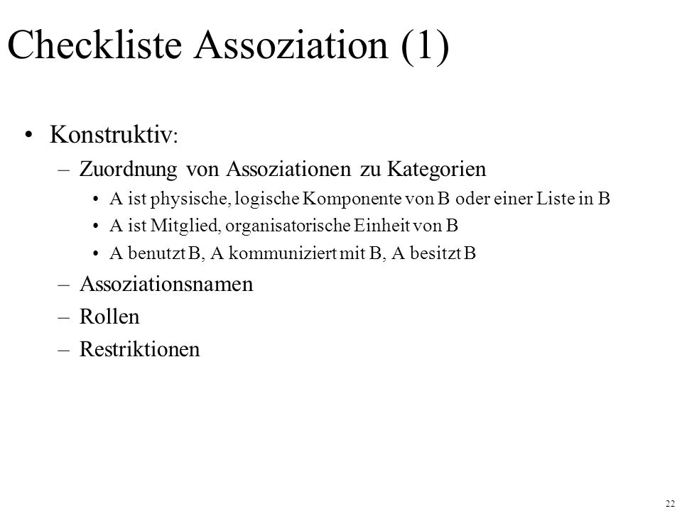 Checkliste Assoziation (1)