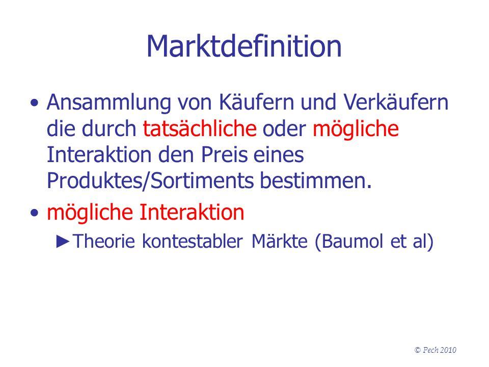 Marktdefinition