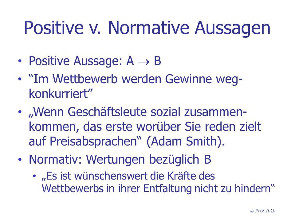 Positive v. Normative Aussagen