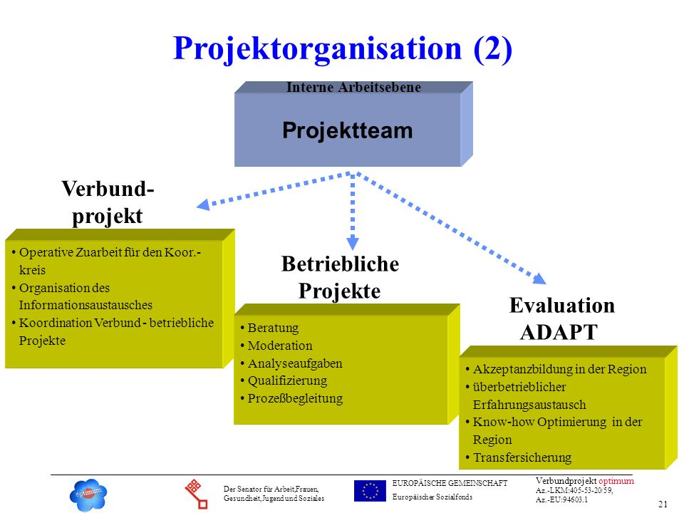 Projektorganisation (2)