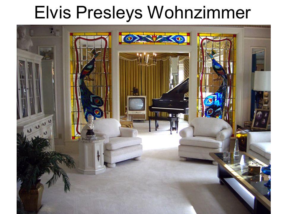 Elvis Presleys Wohnzimmer