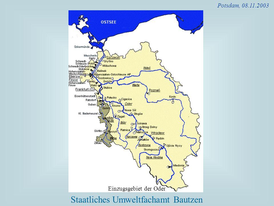 Potsdam, 08.11.2003 Einzugsgebiet der Oder