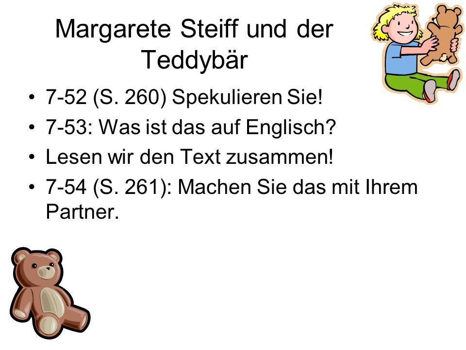 Margarete Steiff und der Teddybär