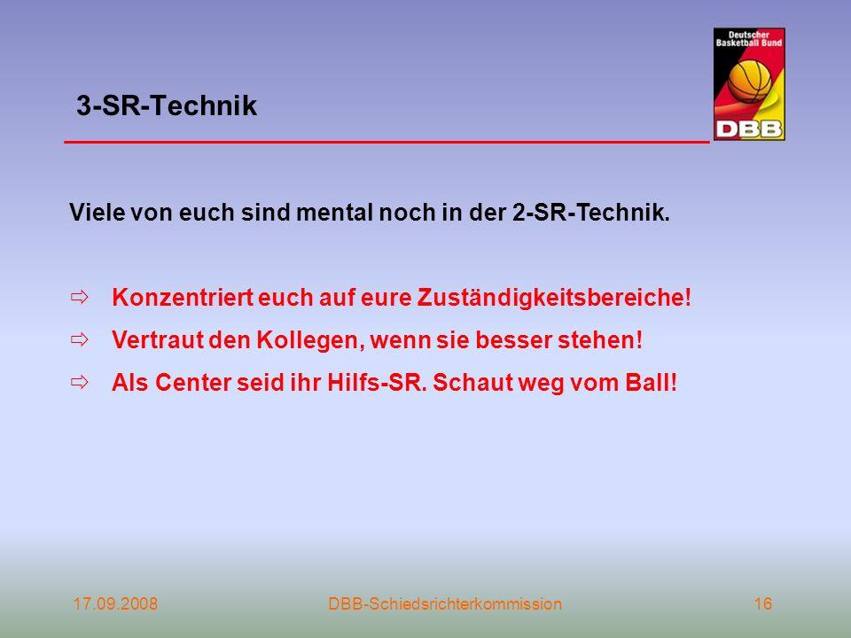 3-SR-Technik Viele von euch sind mental noch in der 2-SR-Technik.