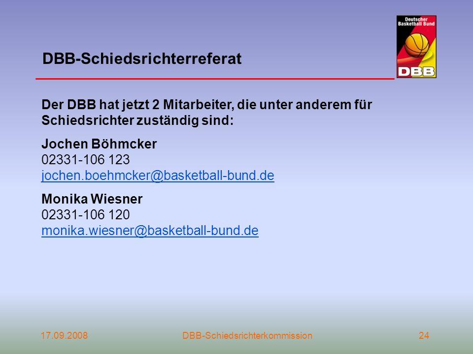 DBB-Schiedsrichterreferat