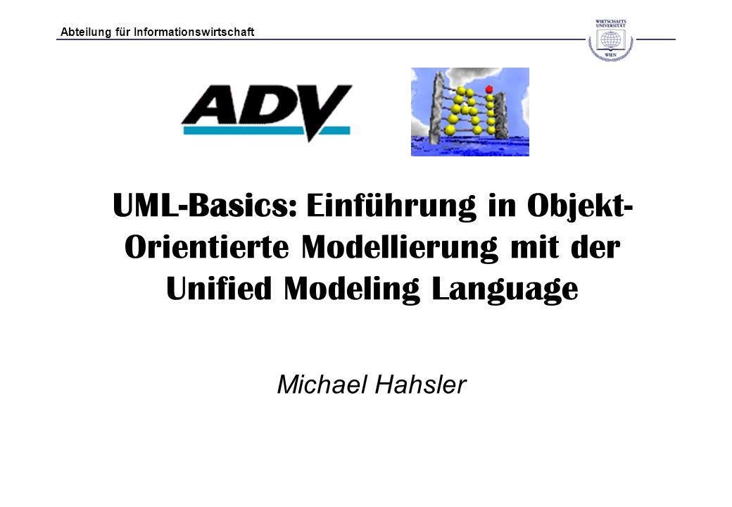 UML-Basics: Einführung in Objekt-Orientierte Modellierung mit der Unified Modeling Language