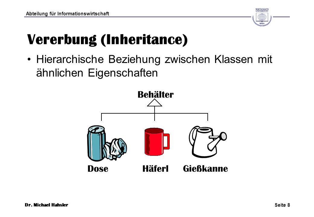 Vererbung (Inheritance)