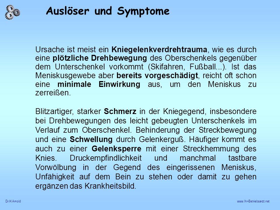 Auslöser und Symptome