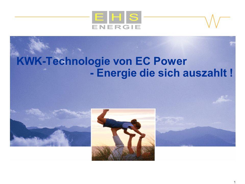KWK-Technologie von EC Power - Energie die sich auszahlt !
