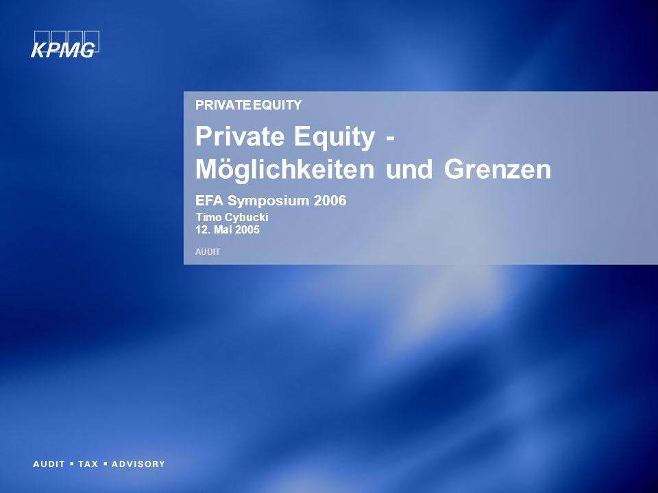 Private Equity - Möglichkeiten und Grenzen