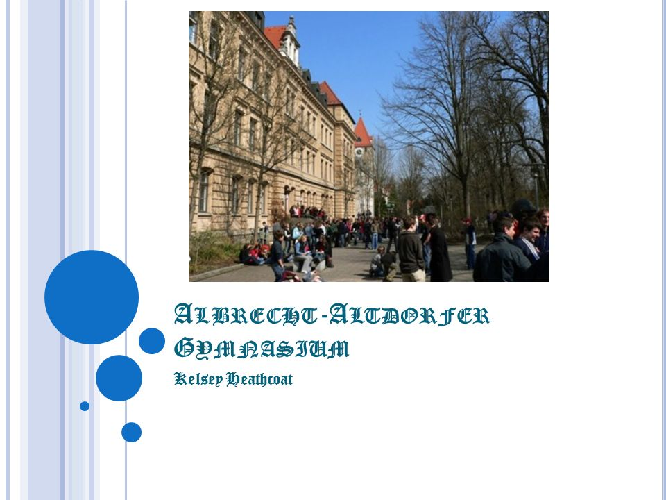 Albrecht-Altdorfer Gymnasium