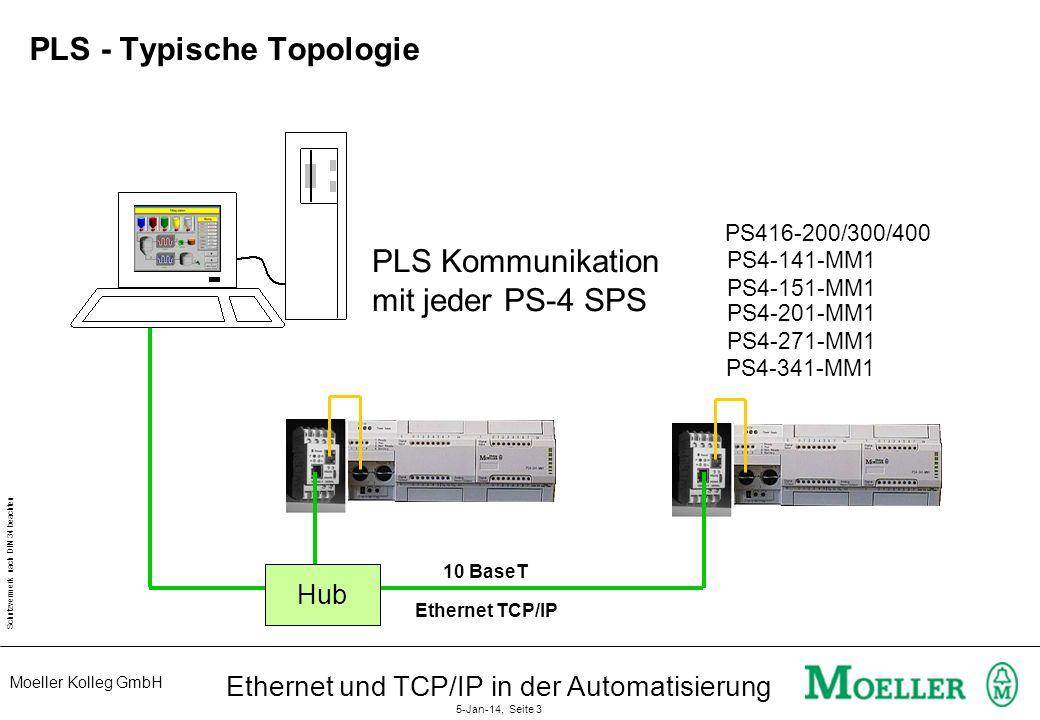 PLS - Typische Topologie