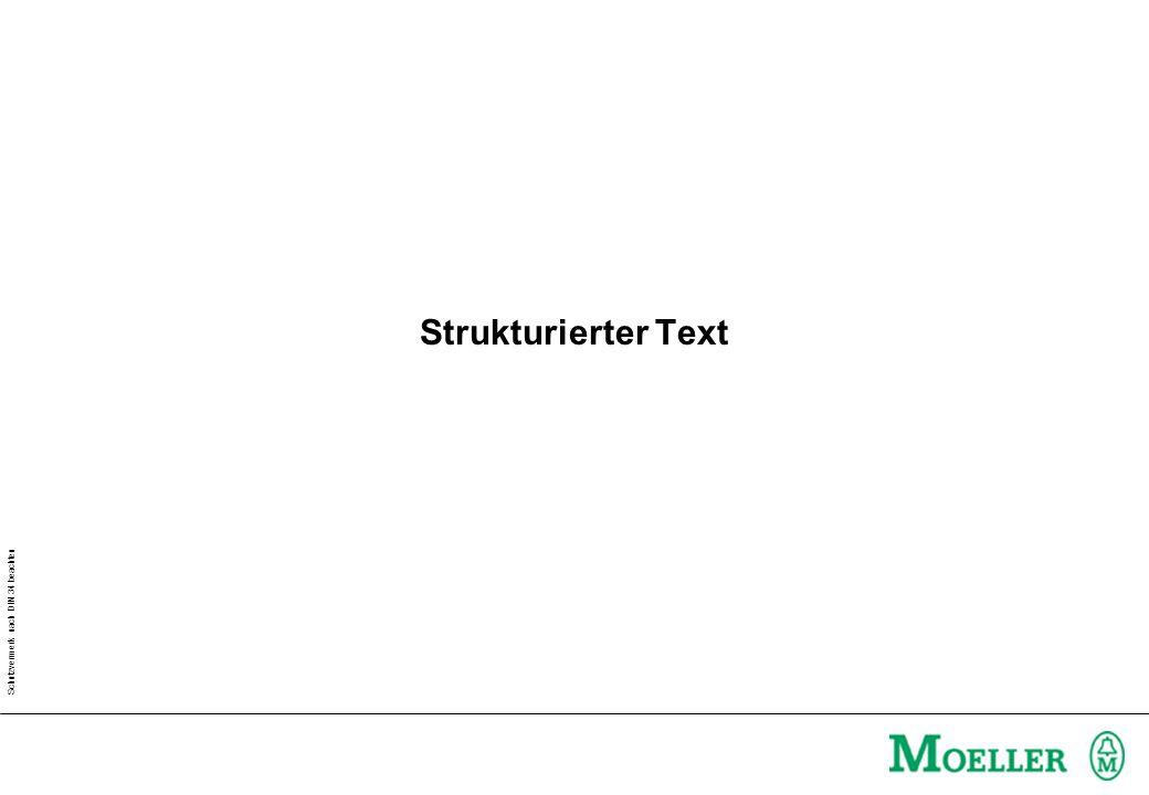 Strukturierter Text