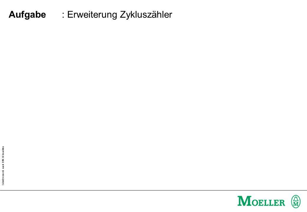 : Erweiterung Zykluszähler