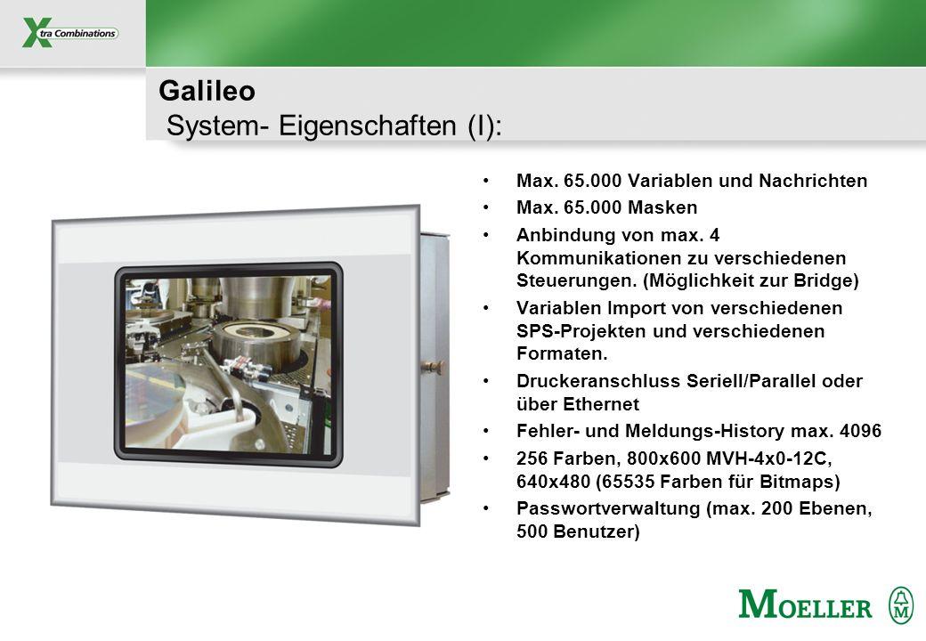 Galileo System- Eigenschaften (I):