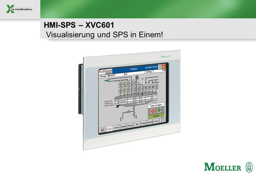 HMI-SPS – XVC601 Visualisierung und SPS in Einem!