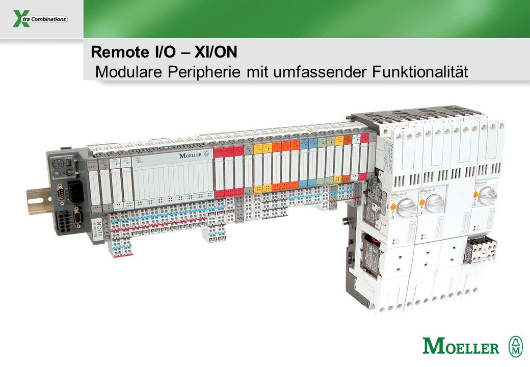 Remote I/O – XI/ON Modulare Peripherie mit umfassender Funktionalität