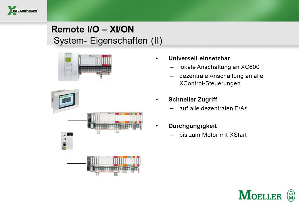 Remote I/O – XI/ON System- Eigenschaften (II)