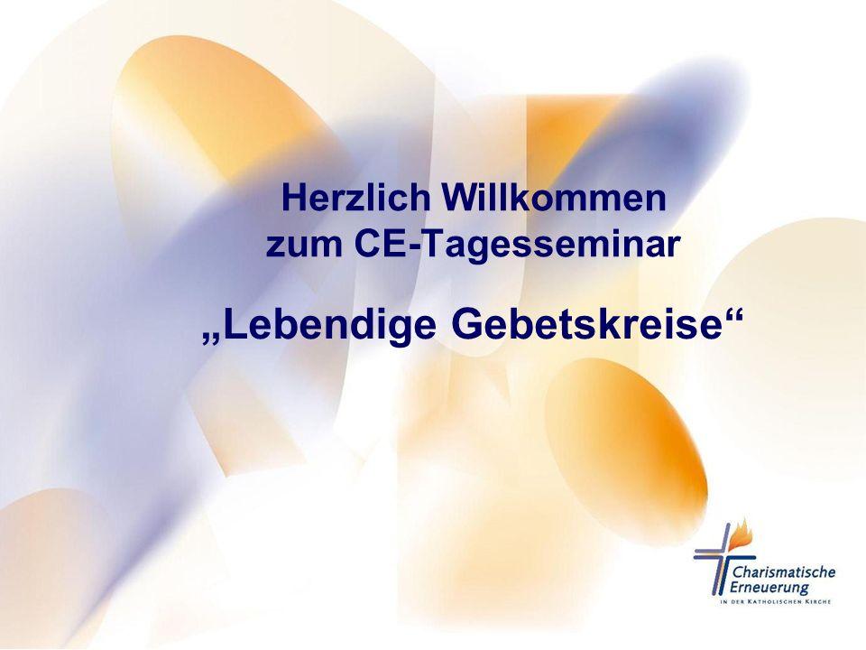 Herzlich Willkommen zum CE-Tagesseminar