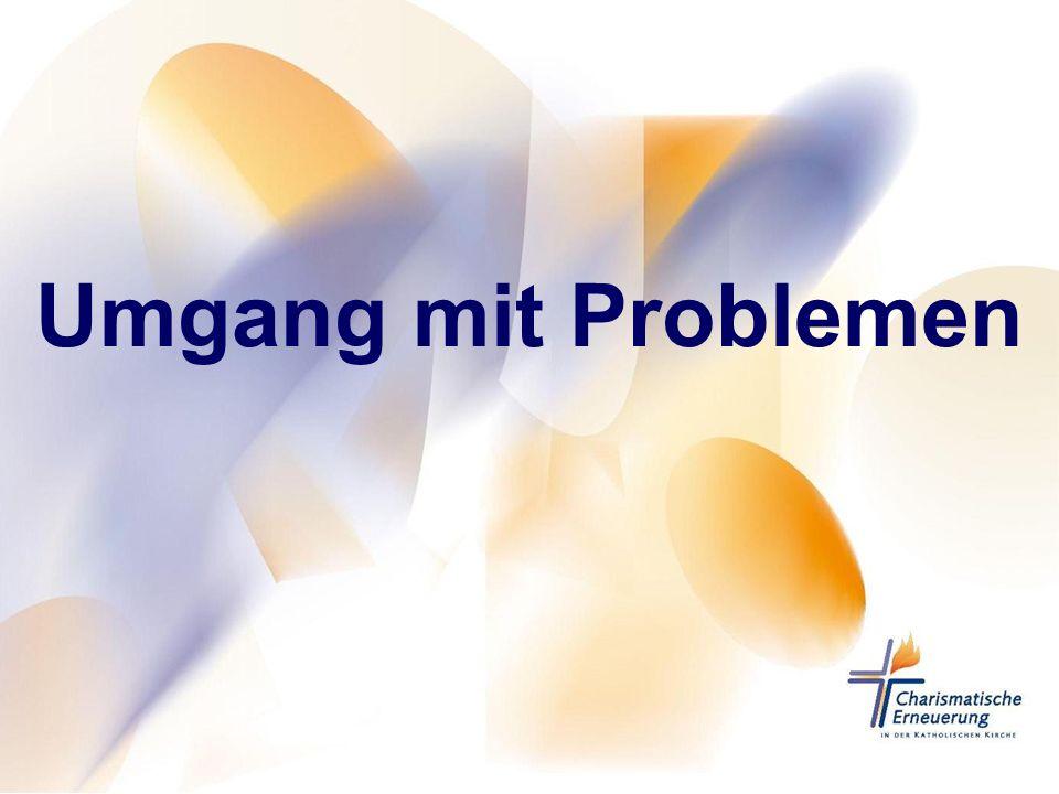 Umgang mit Problemen