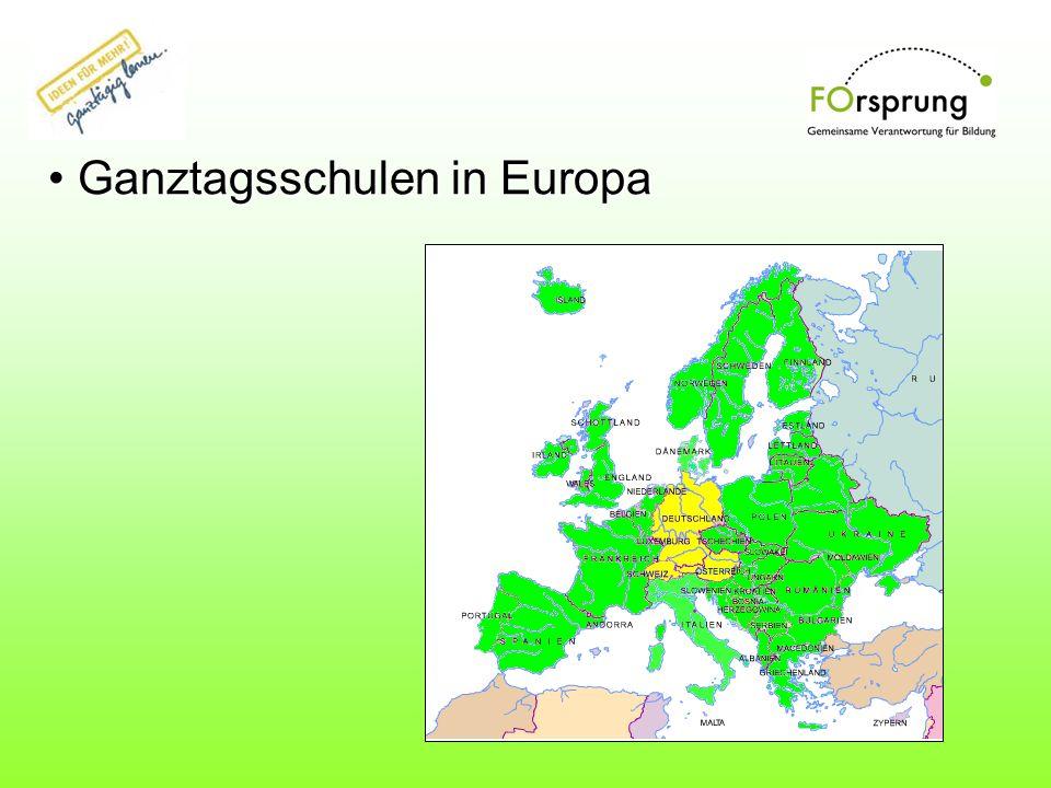 Ganztagsschulen in Europa