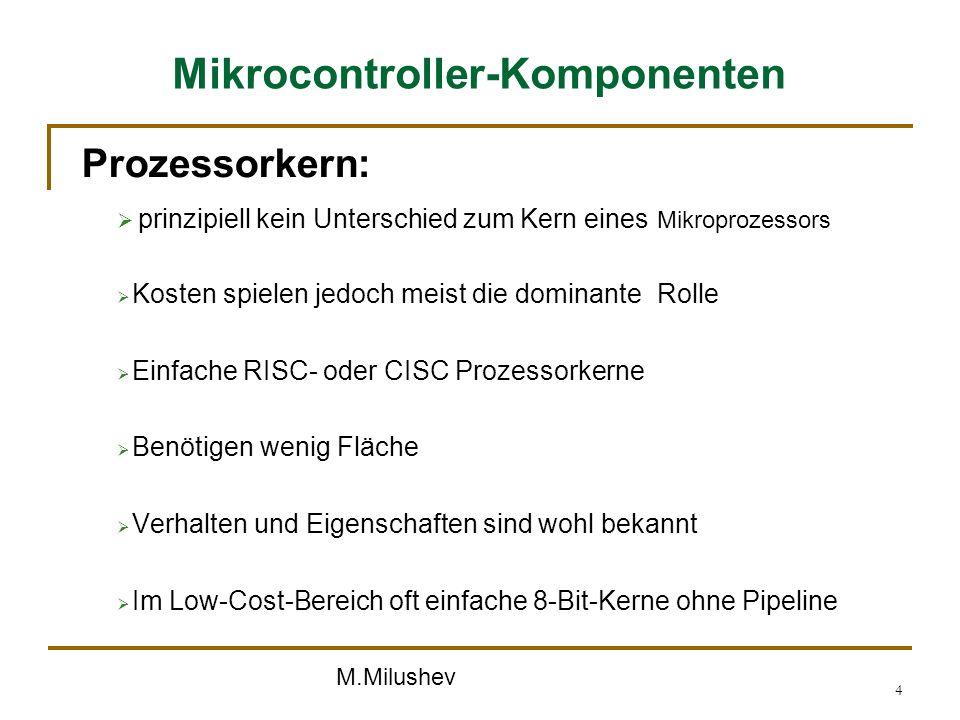 Mikrocontroller-Komponenten