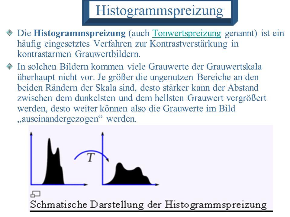 Histogrammspreizung