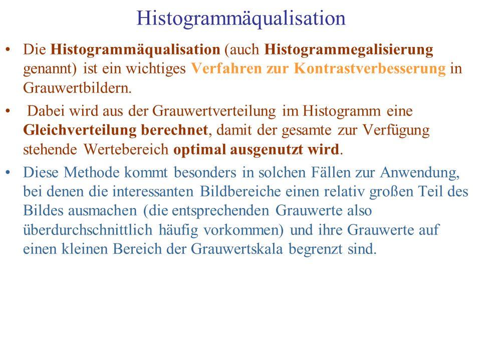 Histogrammäqualisation