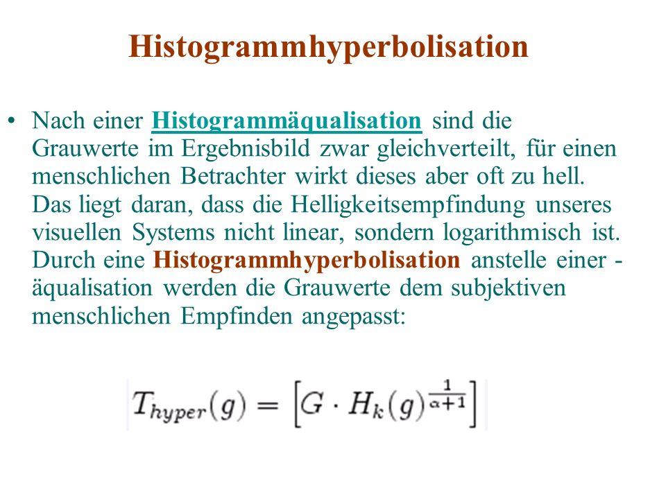 Histogrammhyperbolisation